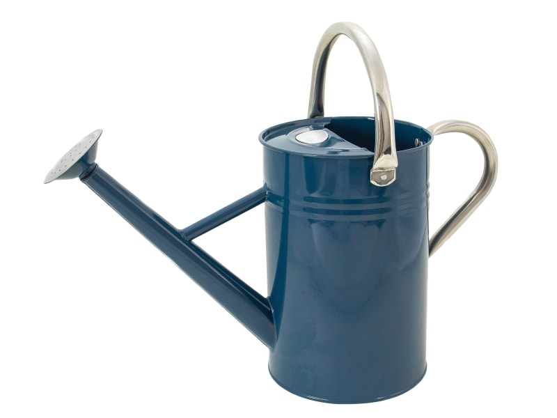 Kent & Stowe Metal Watering Can Midnight Blue 4.5 litre