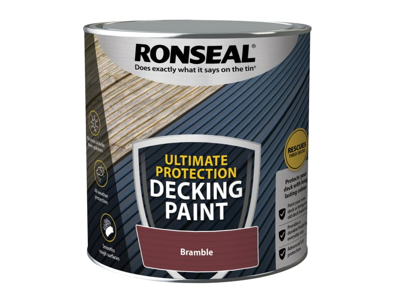 Ronseal Ultimate Protection Decking Paint Bramble 2.5 litre