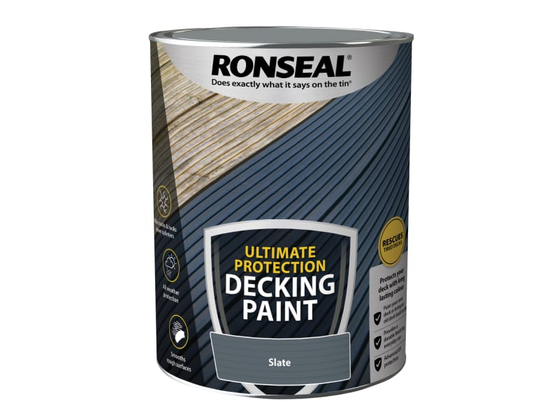 Ronseal Ultimate Protection Decking Paint Slate 5 litre