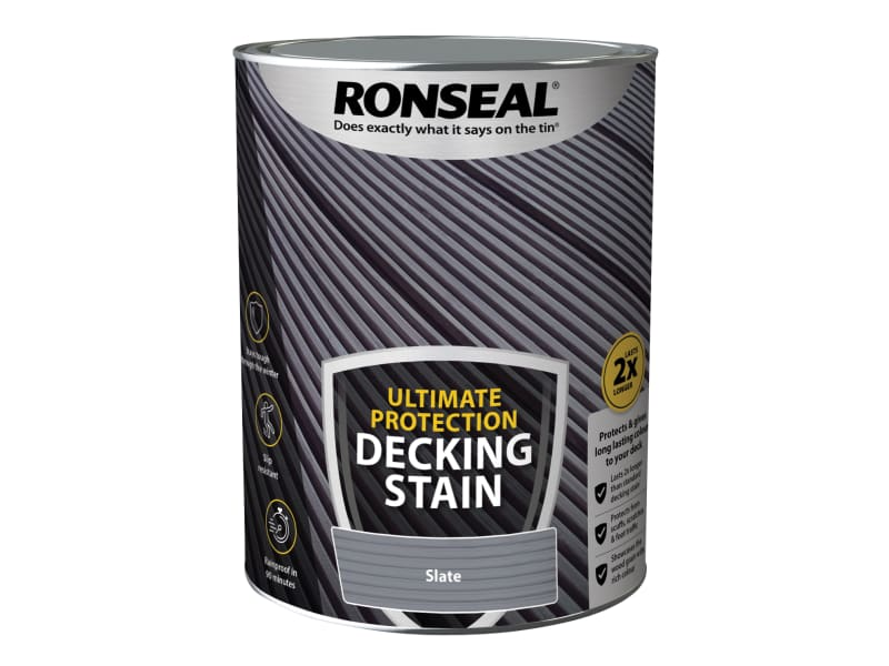 Ronseal Ultimate Protection Decking Stain Slate 5 litre
