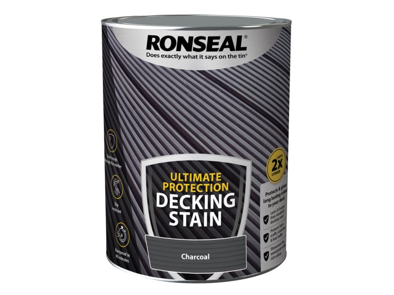 Ronseal Ultimate Protection Decking Stain Charcoal 5 litre