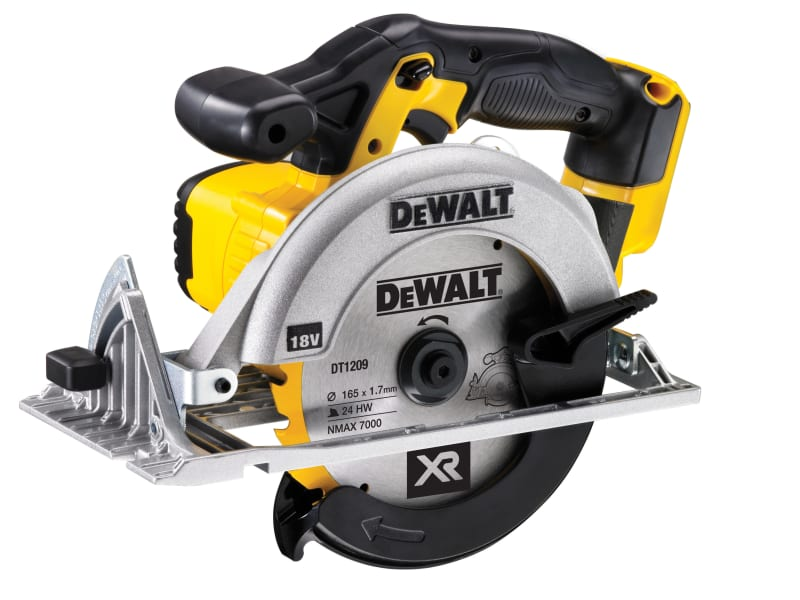 DEWALT DCS391N 165mm XR Premium Circular Saw 18 Volt Bare Unit
