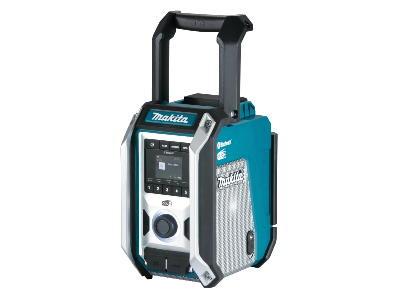 Makita DMR115 DAB/DAB+/Bluetooth Job Site Radio 240V & Li-ion Bare Unit