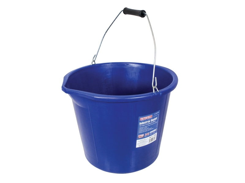 Faithfull Builder's Industrial Bucket 14 litre (3 gallon)
