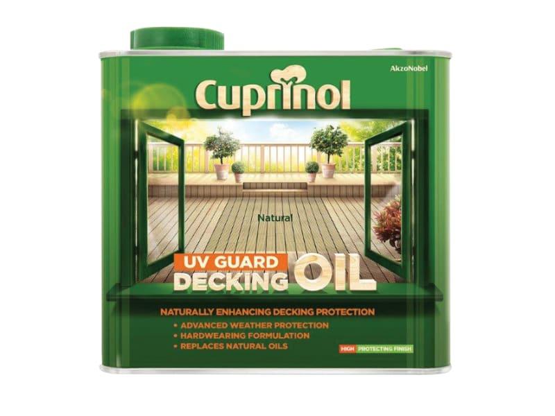 Cuprinol 2.5l Decking Oil And Protector - Natural