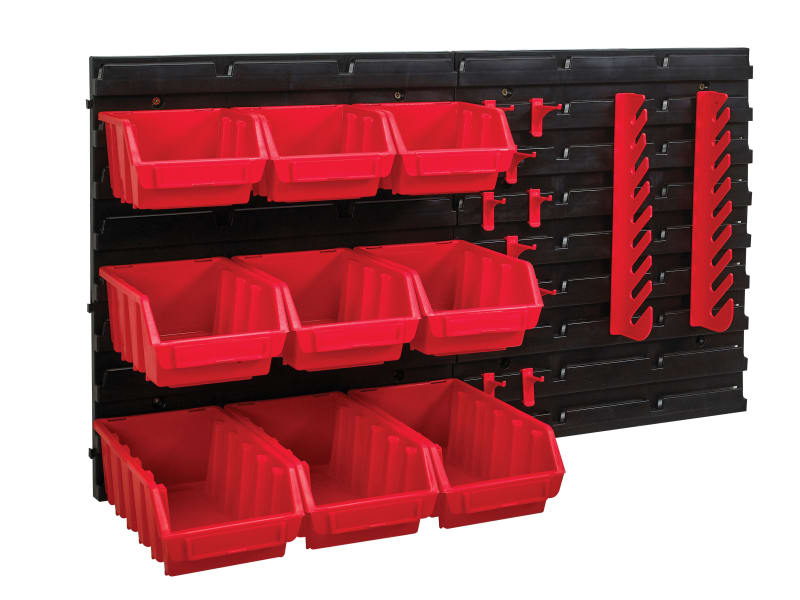 Faithfull Storage Bin Set, 12 Piece