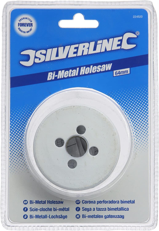 Silverline Bi-metal Holesaw 64mm