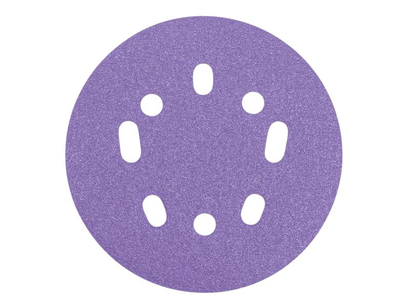 Trend Zirconium Orbital Sanding Disc 125mm X 80g (pack 50)
