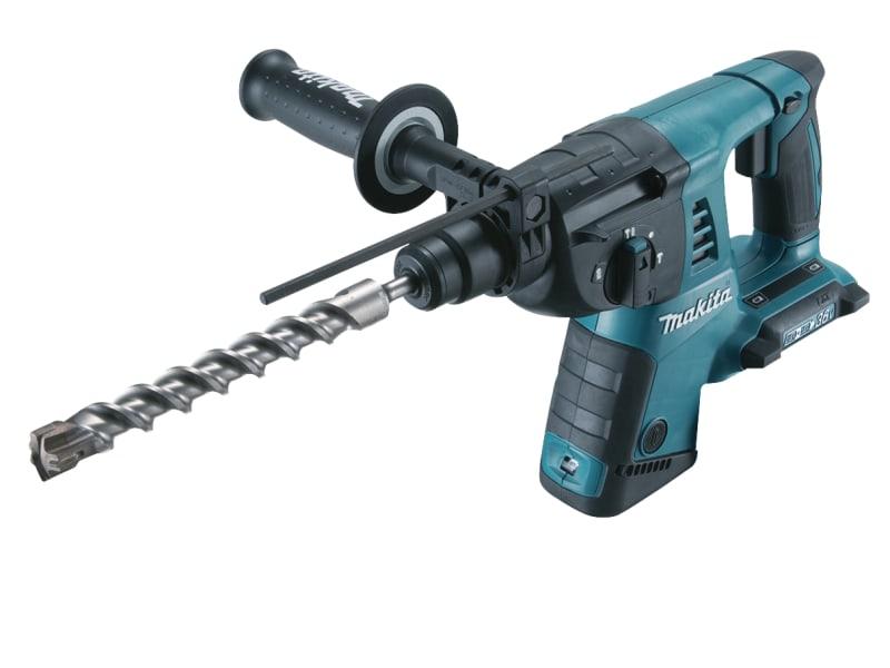 Makita DHR263ZJ Rotary SDS Hammer Drill 36V (2 x 18V) Bare Unit