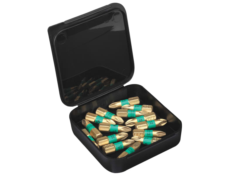 Wera 855/4 BDC BiTorsion Pozidriv PZ2 Diamond Bit Box 15