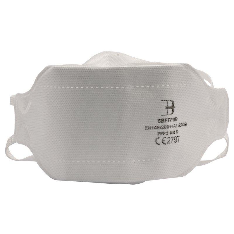 Draper FFP3 Fold Flat Mask SI MOD (Pack of 20)