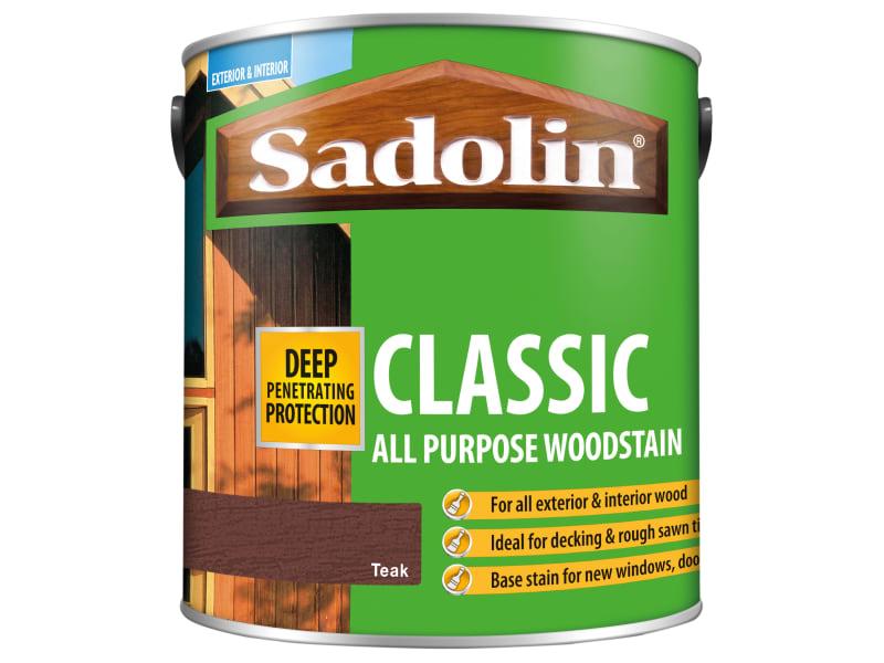 Sadolin Classic Wood Protection Teak 2.5 Litre