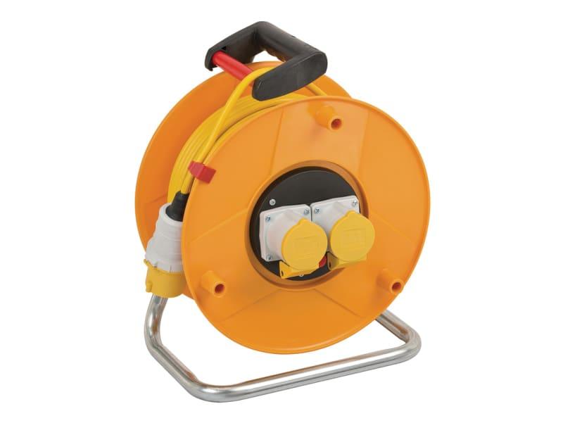 Brennenstuhl Garant CEE 2 Cable Reel 110V 16A 2-Socket 50m