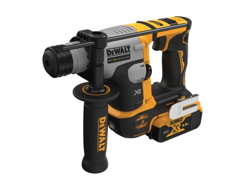 DeWALT DCH172P2 Ultra-Compact XR SDS Plus Rotary Hammer 18V 2 x 5.0Ah Li-ion