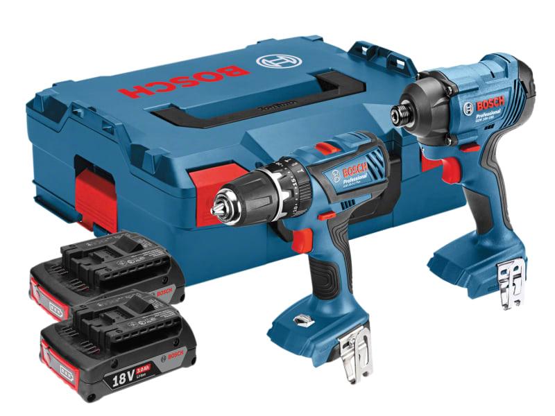 Bosch Twin Pack 18V 2 x 3.0Ah Li-Ion