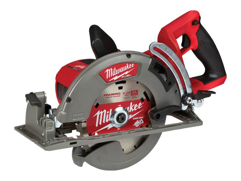 Milwaukee Power Tools M18 FCSRH66-0 FUEL Rear Handle Circular Saw 18V Bare Unit