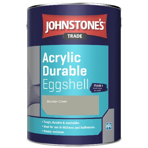 Johnstone's Trade Acrylic Durable Eggshell - Boulder Creek - 2.5ltr