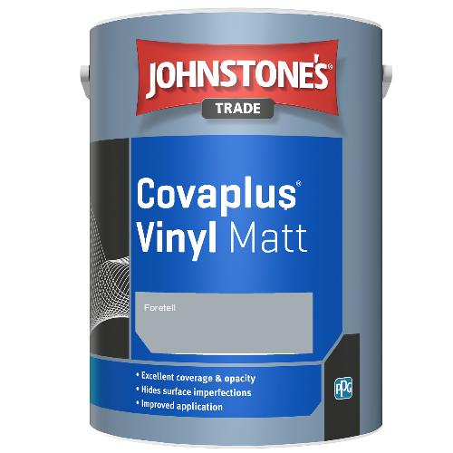 Johnstone's Trade Covaplus Vinyl Matt - Foretell - 1ltr