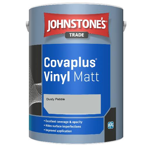 Johnstone's Trade Covaplus Vinyl Matt - Dusty Pebble - 1ltr
