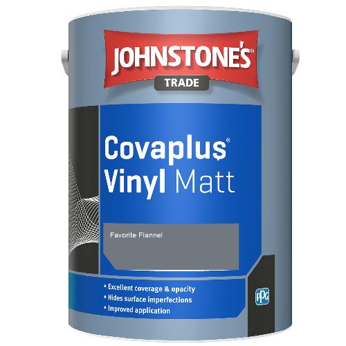 Johnstone's Trade Covaplus Vinyl Matt - Favorite Flannel - 1ltr