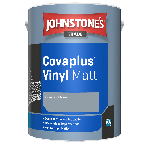 Johnstone's Trade Covaplus Vinyl Matt - Coast Of Maine - 1ltr