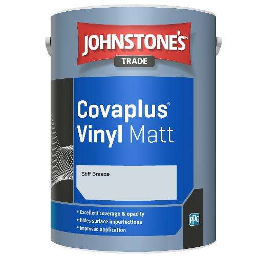 Johnstone's Trade Covaplus Vinyl Matt - Stiff Breeze - 2.5ltr