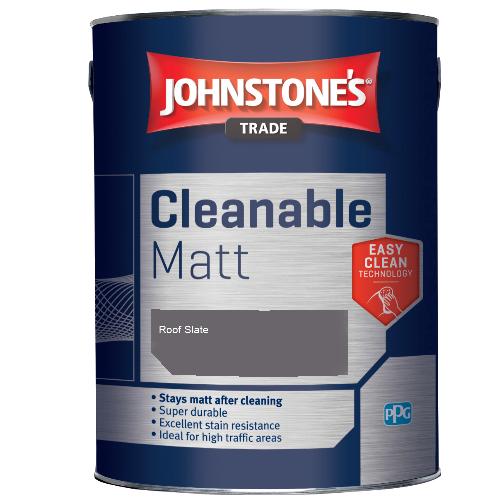 Johnstone's Trade Cleanable Matt - Roof Slate - 2.5ltr