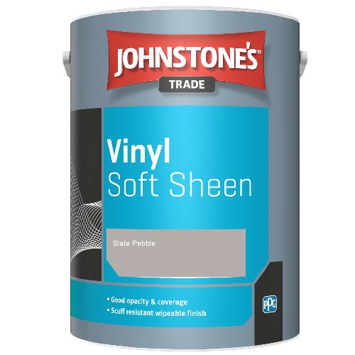 Johnstone's Trade Vinyl Soft Sheen - Slate Pebble - 5ltr