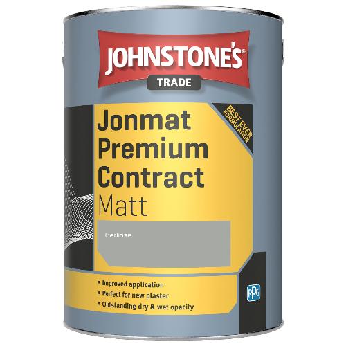 Johnstone's Trade Jonmat Premium Contract Matt - Berliose - 5ltr