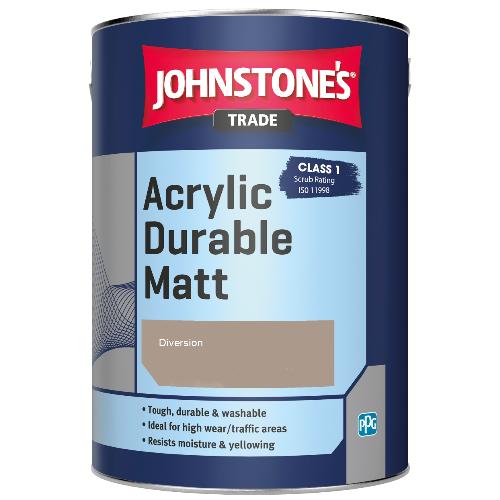 Johnstone's Trade Acrylic Durable Matt - Diversion - 5ltr