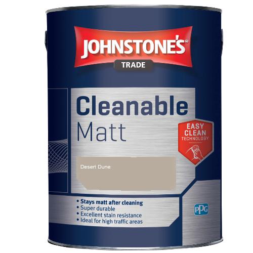 Johnstone's Trade Cleanable Matt - Desert Dune - 5ltr