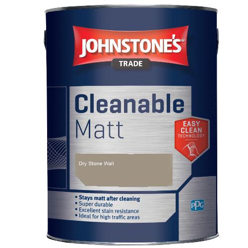 Johnstone's Trade Cleanable Matt - Dry Stone Wall - 2.5ltr