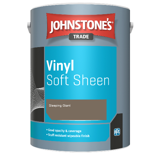 Johnstone's Trade Vinyl Soft Sheen - Sleeping Giant - 5ltr