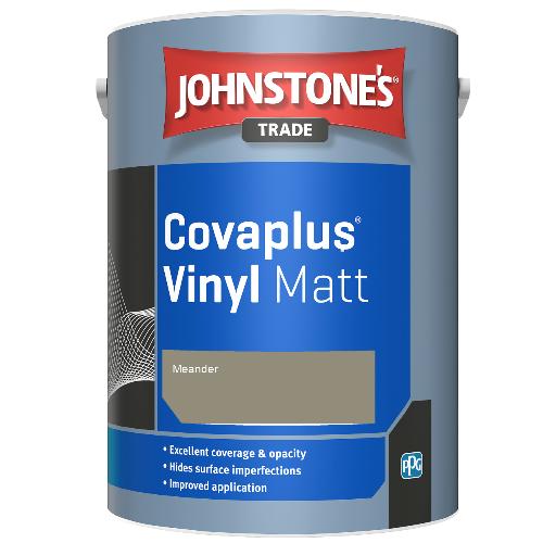 Johnstone's Trade Covaplus Vinyl Matt - Meander - 1ltr