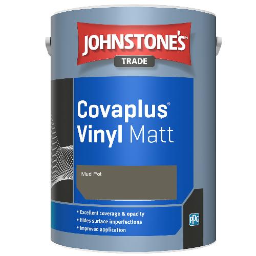 Johnstone's Trade Covaplus Vinyl Matt - Mud Pot - 2.5ltr