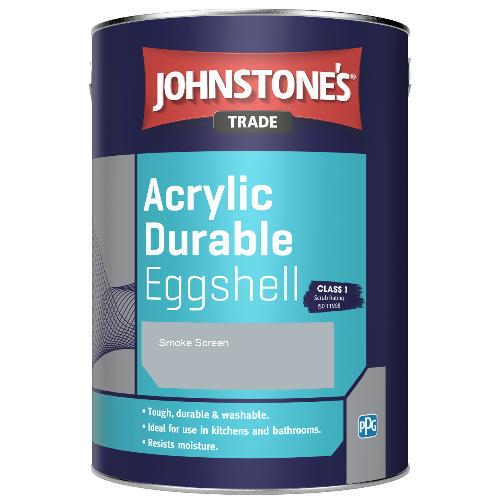Johnstone's Trade Acrylic Durable Eggshell - Smoke Screen - 2.5ltr