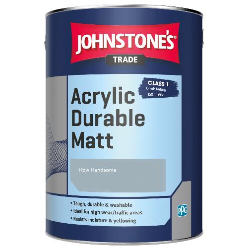 Johnstone's Trade Acrylic Durable Matt - How Handsome - 5ltr