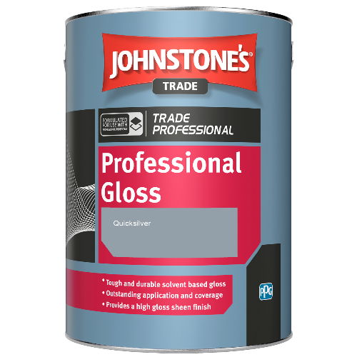 Johnstone's Professional Gloss - Quicksilver - 2.5ltr