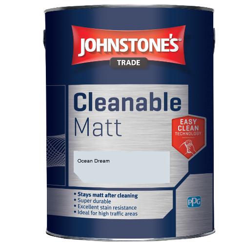 Johnstone's Trade Cleanable Matt - Ocean Dream - 5ltr