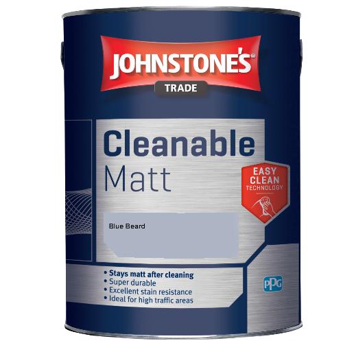 Johnstone's Trade Cleanable Matt - Blue Beard - 2.5ltr
