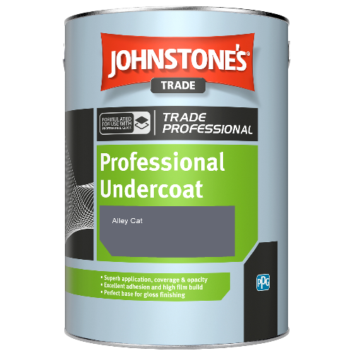 Johnstone's Professional Undercoat - Alley Cat - 1ltr