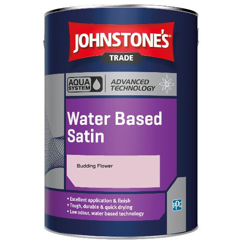 Johnstone's Aqua Water Based Satin - Budding Flower - 5ltr