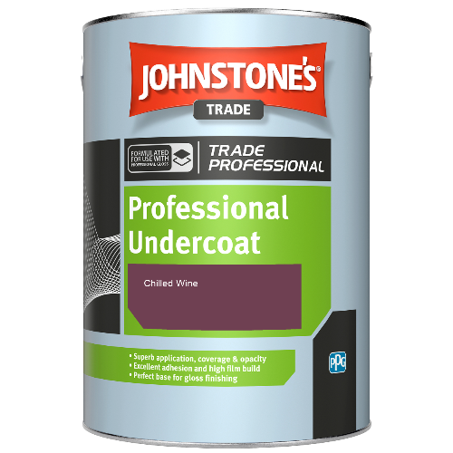 Johnstone's Professional Undercoat - Chilled Wine - 1ltr