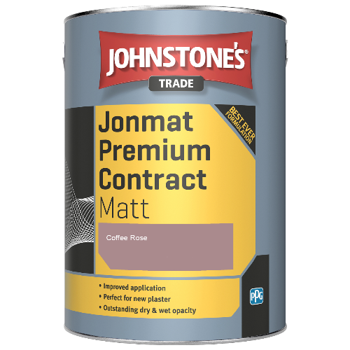 Johnstone's Trade Jonmat Premium Contract Matt - Coffee Rose - 5ltr