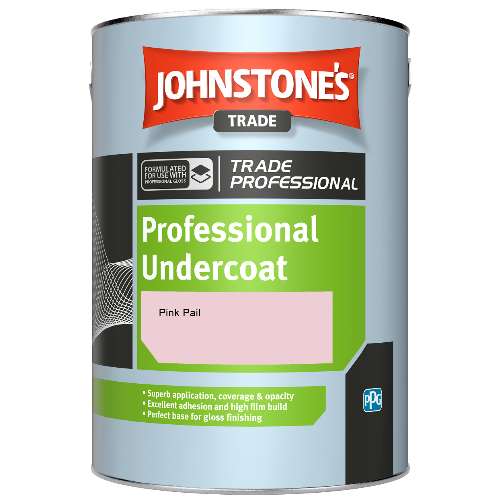 Johnstone's Professional Undercoat - Pink Pail - 1ltr