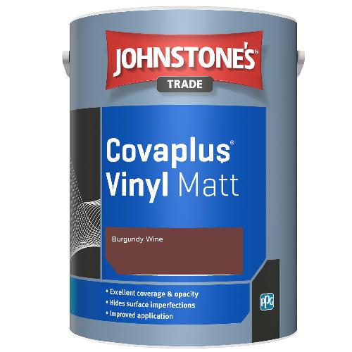 Johnstone's Trade Covaplus Vinyl Matt - Burgundy Wine - 2.5ltr