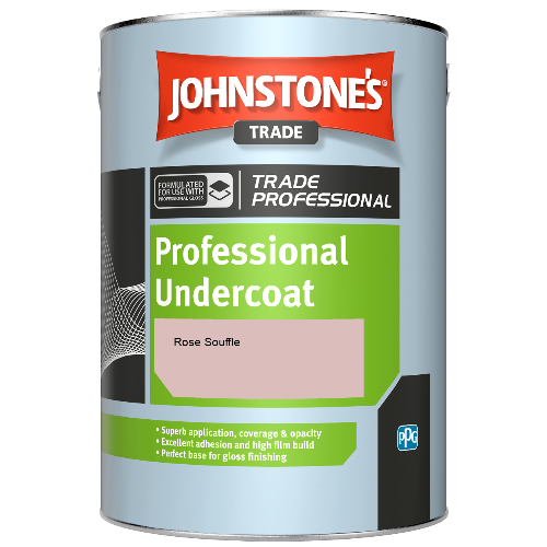 Johnstone's Professional Undercoat - Rose Souffle - 1ltr