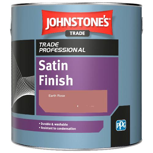 Johnstone's Satin Finish - Earth Rose - 1ltr