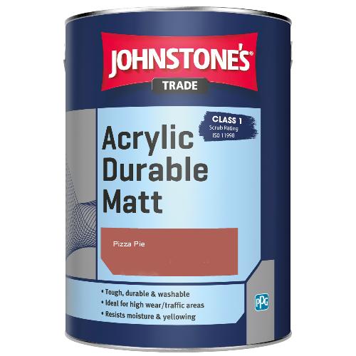 Johnstone's Trade Acrylic Durable Matt - Pizza Pie - 5ltr