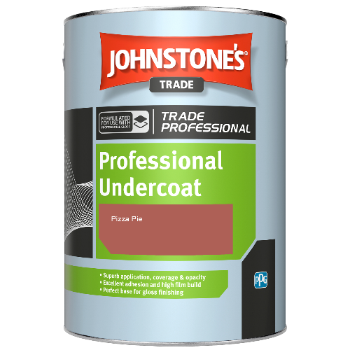 Johnstone's Professional Undercoat - Pizza Pie - 1ltr